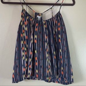 Urban Outfitters Ecote Tribal Print Racerback Top